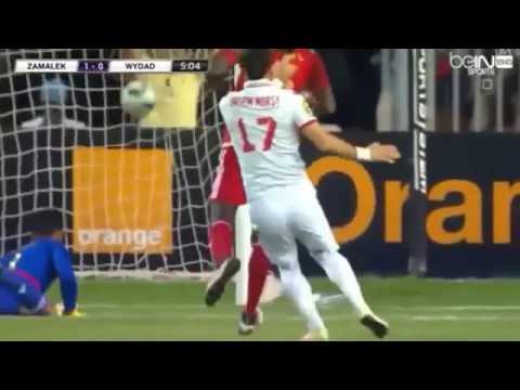 Ligue des champions d'Afrique : Zamalek 4 – Wydad Casablanca 0 (commentaire Hafid Derrardji)