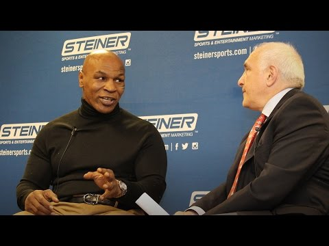 Ringside with Mike Tyson | Q&A Interview with the Former Heavyweight Boxing Champion