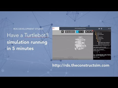 How to have a Turtlebot 3 simulation in Gazebo with ROS running in 5 mins