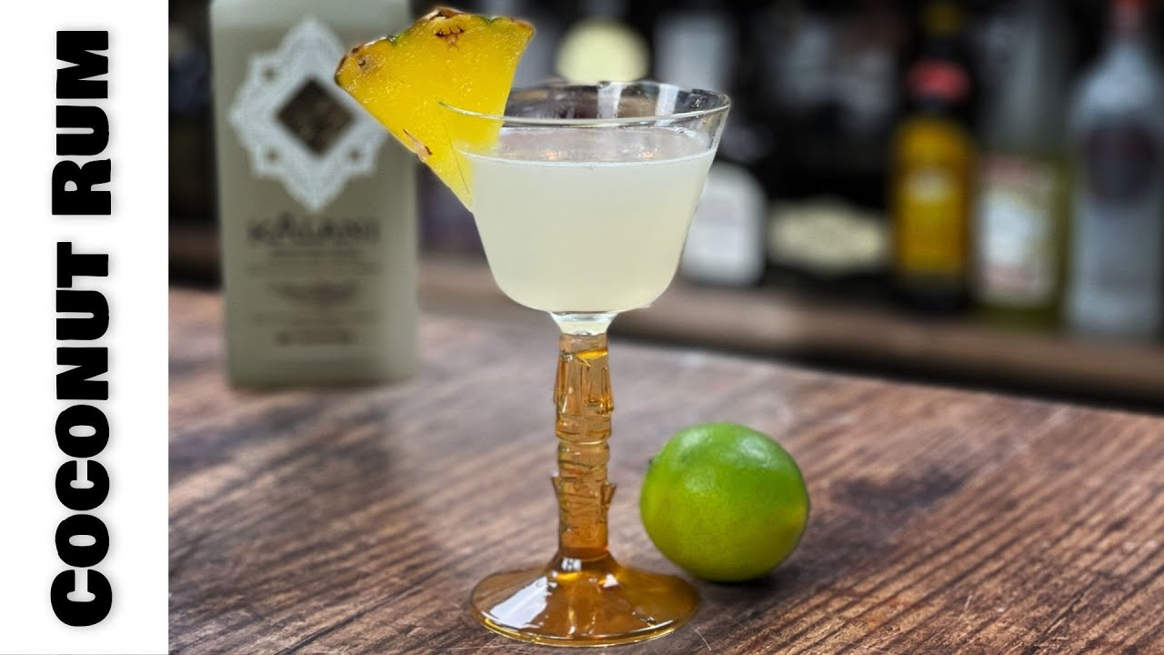 Coconut Cocktails with Kalani Rum