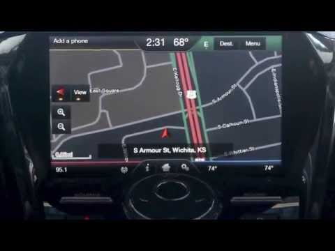 review for navigation with sync myford touch system from rusty eck ford in wichita ks youtube. Black Bedroom Furniture Sets. Home Design Ideas