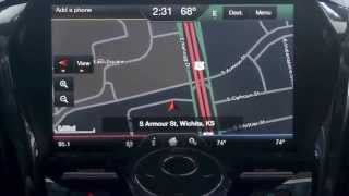 Review for Navigation with SYNC MyFord Touch system from Rusty Eck Ford in Wichita, KS