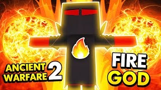 THE FIRE GOD UNIT IN ANCIENT WARFARE 2! (Ancient Warfare 2 Funny Gameplay)
