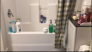 (( ASMR )) Bathroom Cleaning Routine (No Talking)