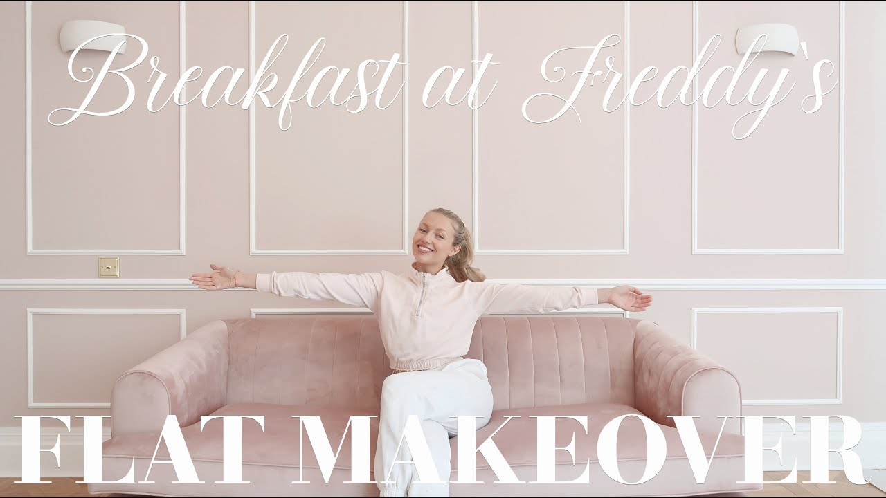 Flat makeover, episode six! Coving, panelling, and my new sofa reveal! ~ Breakfast at Freddy's