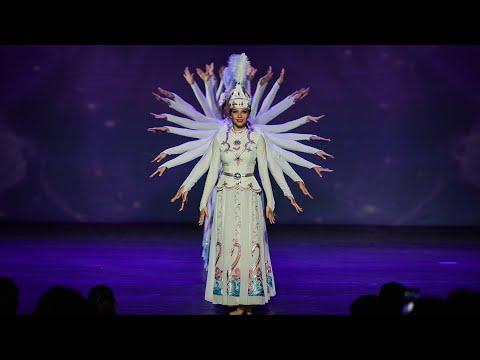 """МГА театр танца """"Гжель"""" - хореографическая композиция """"Девушки-лебеди"""""""
