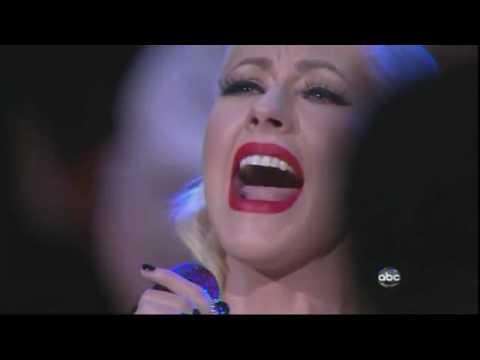 Christina Aguilera USA National Anthem Live At NBA Finals 2010 Game