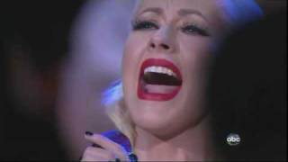 Christina Aguilera USA National Anthem Live At NBA Finals 2010 Game