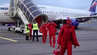 Кубок Карьяла 2020 Прилет сборной России в Хельсинки
