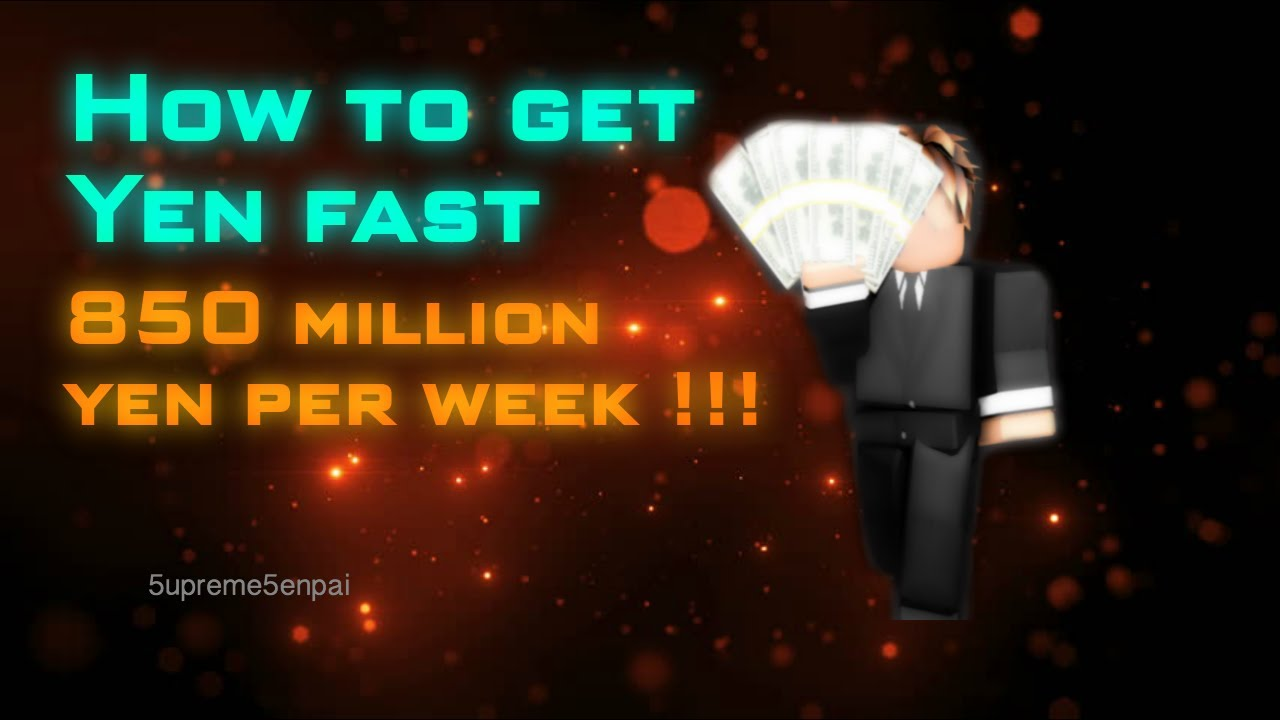 Ro Ghoul How To Get Yen Fast You