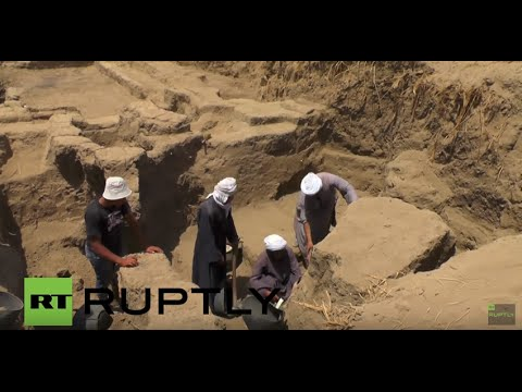 Egypt: Russian archaeologists discover 'White Walls' of Ancient Egyptian city of Memphis