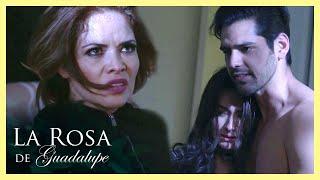 La Rosa de Guadalupe: Sofía intenta acabar con la novia de Raúl   Más cerca de lo que te imaginas