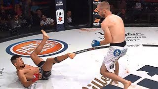 EDUARDO DANTAS BREAKS LEG & THEN GETS KNOCKED OUT IN MMA FIGHT!