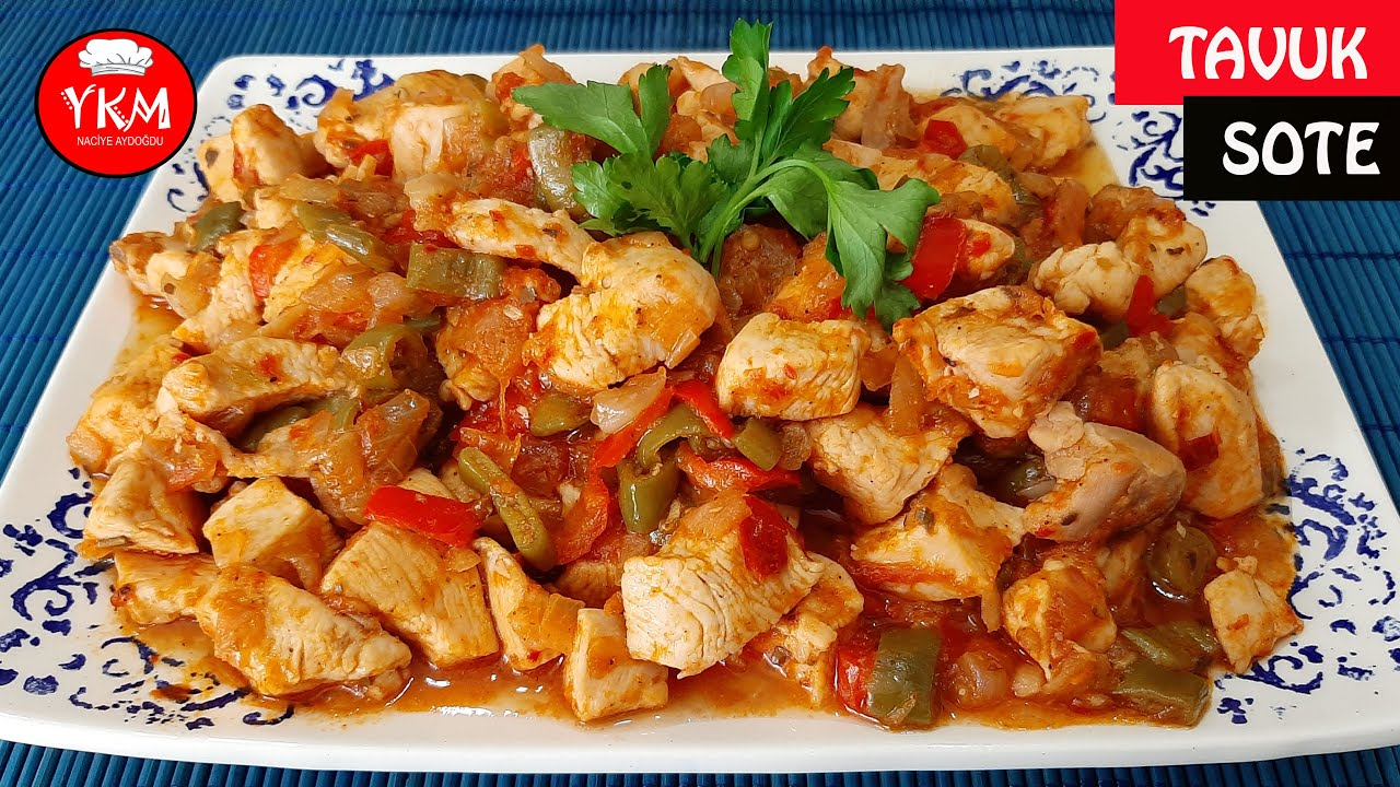 Tavuk Sote Nasıl Yapılır / En Lezzetli Tavuk Sote Tarifi / Kolay Tavuk Sote Tarifi / Pratik Yemek