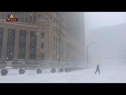 На США обрушились рекордные морозы
