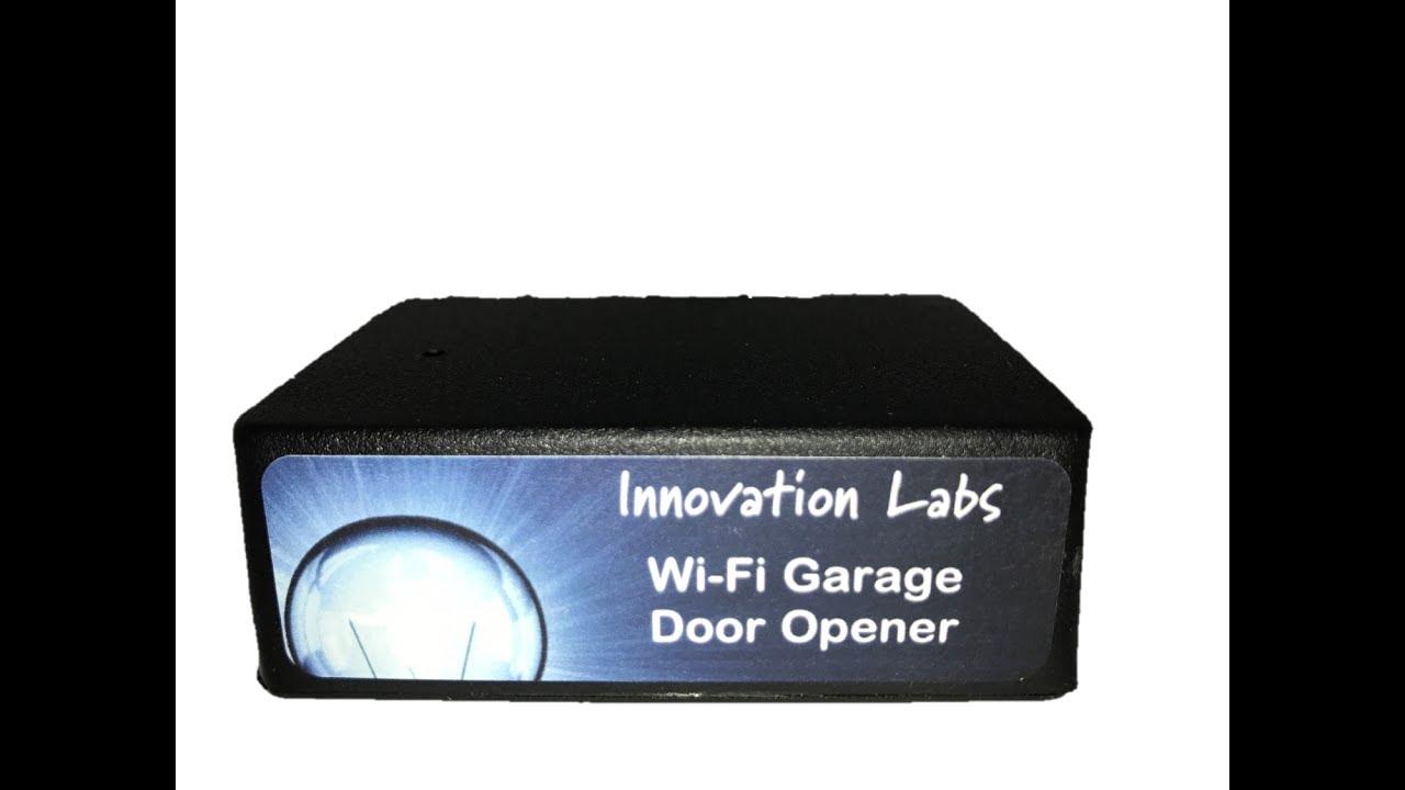 smartphone garage door control home automation
