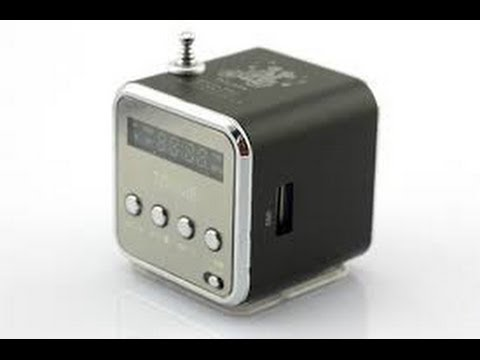 Mini Speaker MP3 Music Player Amplifier Micro SD Radio SCA-0579