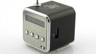 Mini Speaker MP3 Music Player Amplifier Micro SD Radio SCA-0579