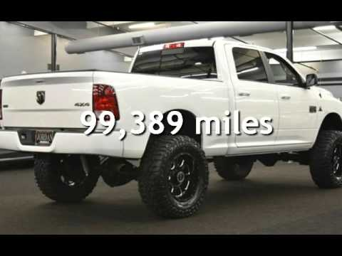 2010 Dodge Ram 2500 Slt Crew Cab Lifted Custom Paint