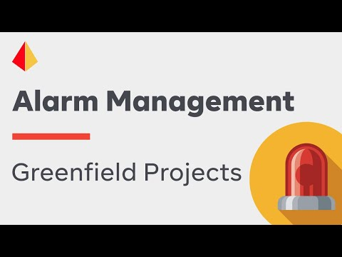 Going Green: Alarm Management for Greenfield Projects