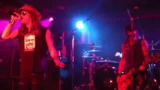 Skid Row performs