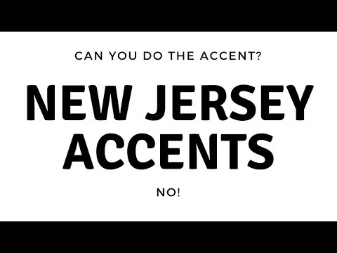 New Jersey Accents