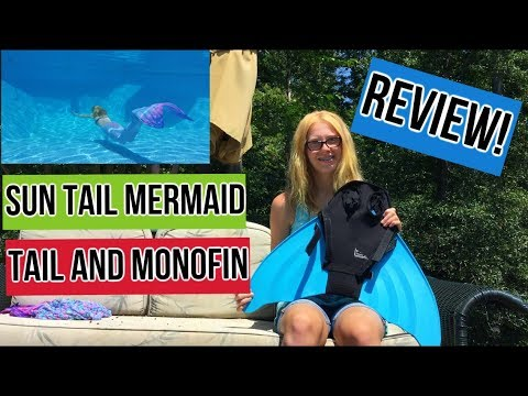 Sun Tails Mermiad Tail and Monofin Review!