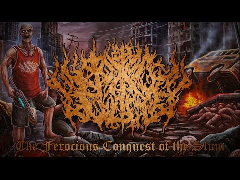 PIT OF TOXIC SLIME - THE FEROCIOUS CONQUEST OF THE SLUM (OFFICIAL ALBUM STREAM 2017)