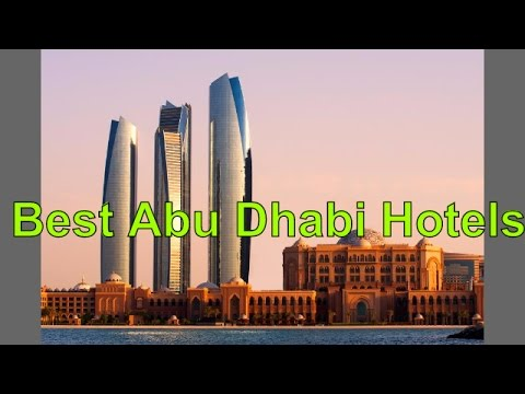 Best Abu Dhabi Hotels