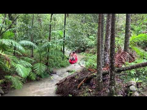 The Stokers Siding Mighty River Challenge with Commentary by the Comedy Bush Walker.