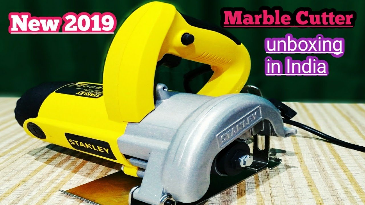 Best Cutting Machine 2020 New Stanley Marble Cutter Machine unboxing in India 2019/2020