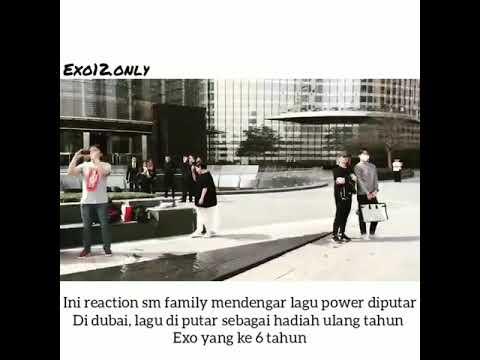 Reaksi Sm Family Mendengar Lagu Power Di Putar Di Dubai