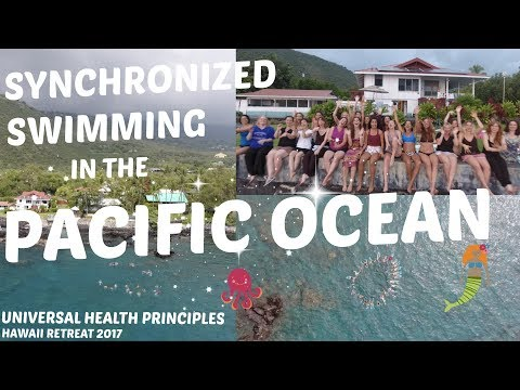 Synchronized Swimming in the Pacific Ocean