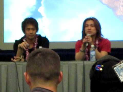Masakazu Morita and Hideo Ishikawa at KawaiiKon 2010