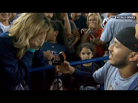 Carlos Correa Marriage Proposal After Winning World Series