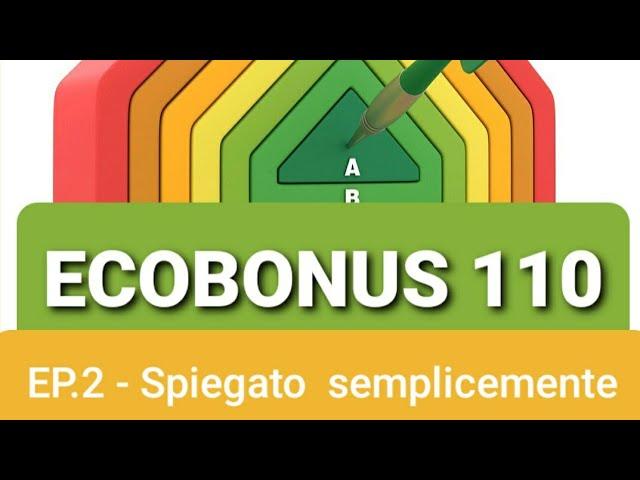 ECOBONUS 110% SPIEGATO SEMPLICEMENTE - Come funziona il superbonus? Ecco il RIASSUNTO - #213