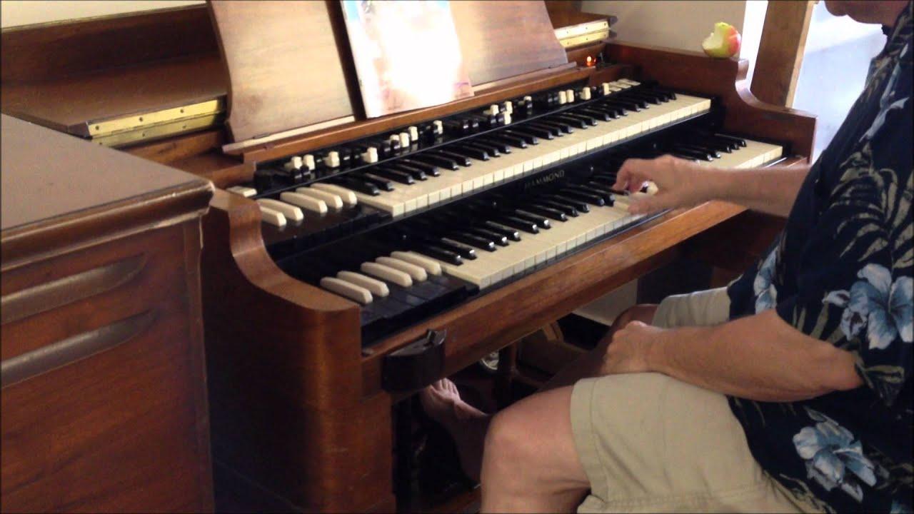 how to play a b3 hammond organ