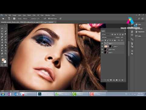 Cách vờn khối cho ảnh chân dung trong photoshop online, Học thiết kế đồ họa Design AZ