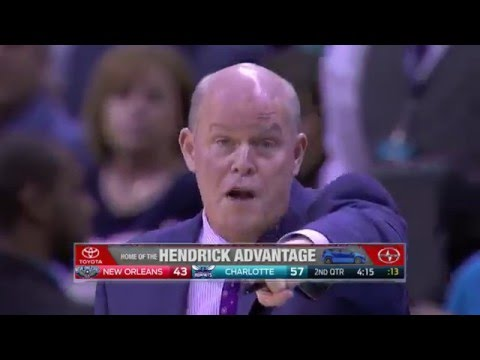 Steve Clifford Disrupting Out-of-Bounds Plays - 2015-16