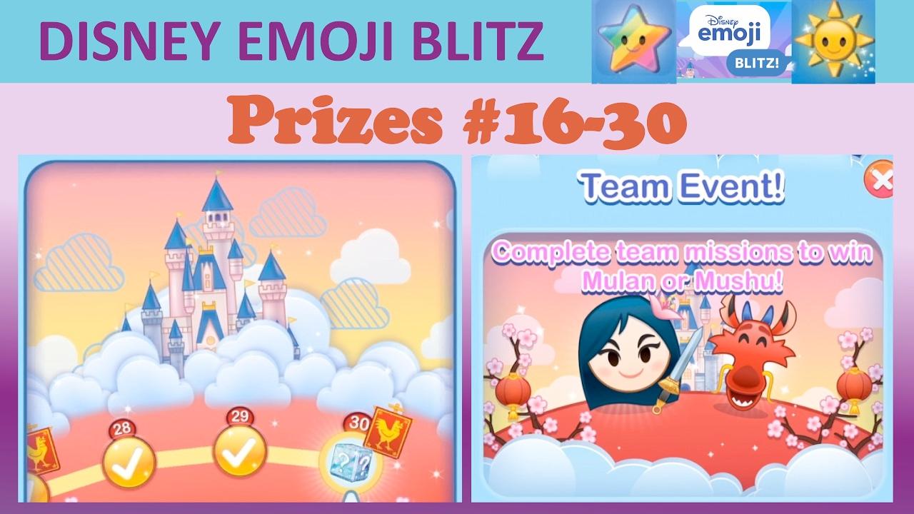 disney emoji blitz chinese new year team event with mulan and mushu prizes 16 30 youtube - Chinese New Year Emoji