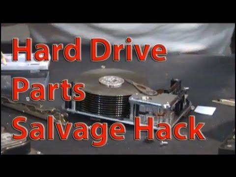 Hard drive hack Tesla Turbine Parts RECYCLING DRILLS HARD DRIVES FOR GENERATORS AND PLATTERS p2