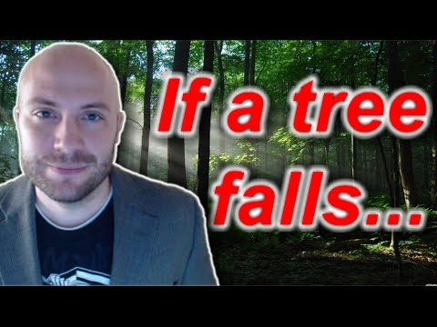 EXPLAINED: If a tree falls in the forest...