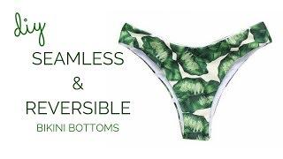 DIY Seamless and Reversible Bikini Bottoms    Katie Fredrickson