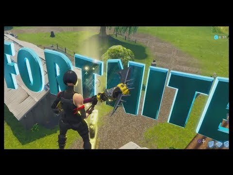 Fortnite: All 8 FORTNITE Letter Locations (Search F-O-R-T-N-I-T-E Letters)