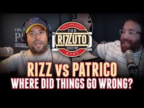 RIZZ vs PATRICO: Tony & Rizz go off the rails while LIVE on the air [Rizzuto Show]