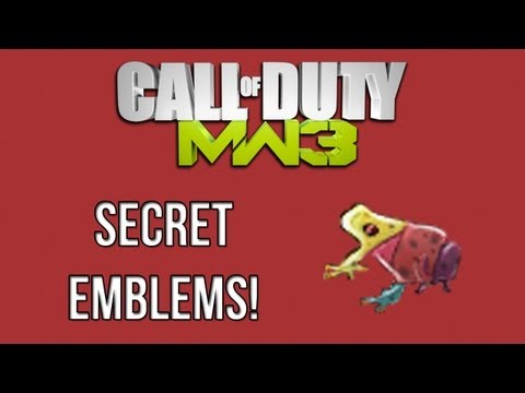 """How To Get """"Multi Colored Frog Emblem"""" In MW3!"""