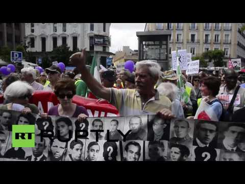 Spain: Anti-austerity 'Dignity March' draws over 1,000 in Madrid