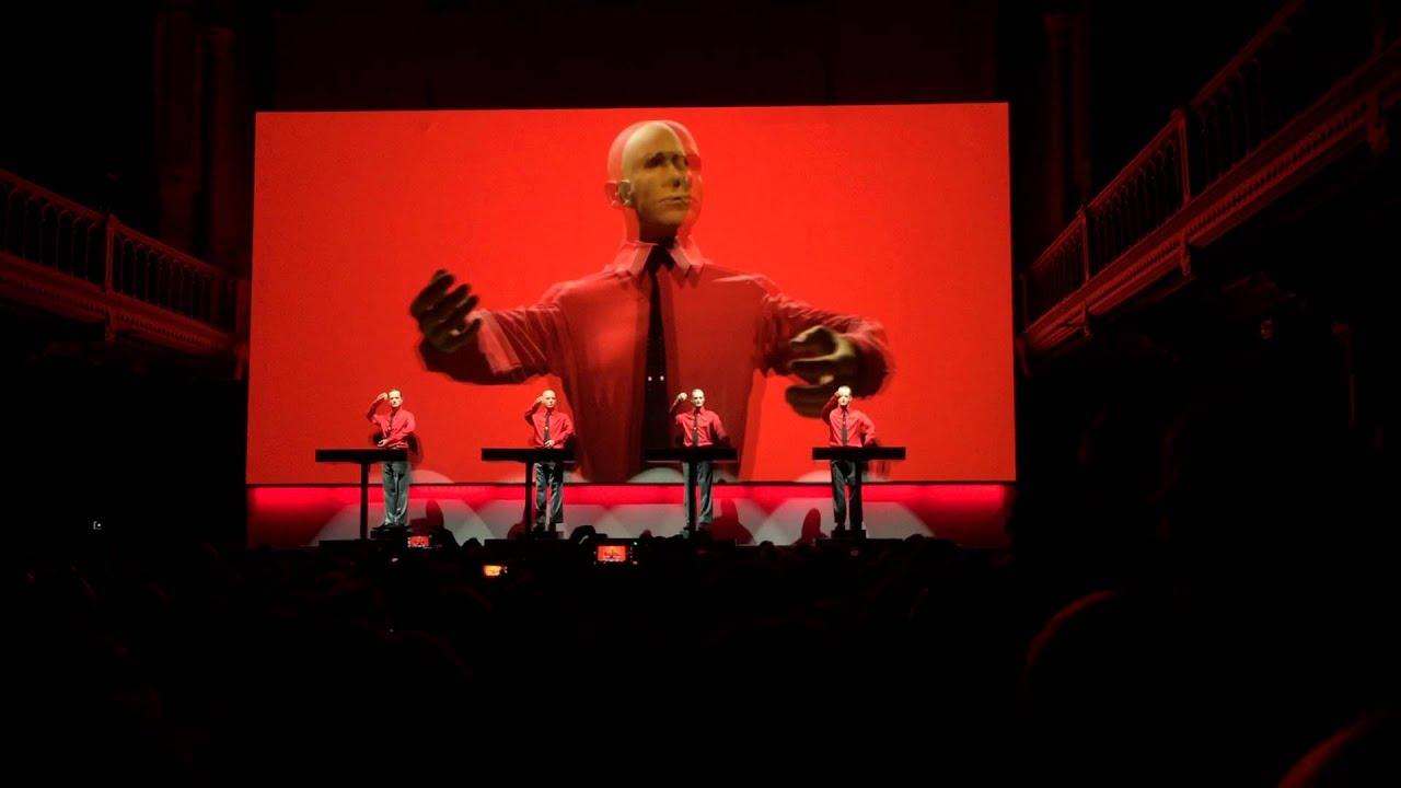 Kraftwerk - We are the robots (Live at Paradiso - 17-01 ...Kraftwerk The Robots