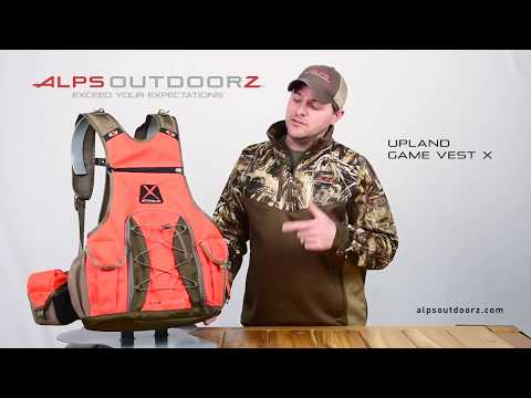 Upland Game Vest X - Features And Updates