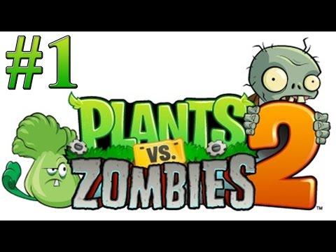 Растения против зомби 2 Прохождение Египет 1